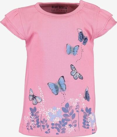 BLUE SEVEN Shirt in hellblau / weiß, Produktansicht