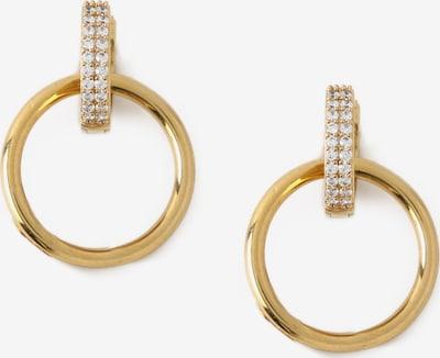 Orecchini Orelia di colore oro / trasparente, Visualizzazione prodotti