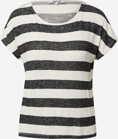 ABOUT YOU Shirt 'Lamya' in schwarz / weiß, Produktansicht