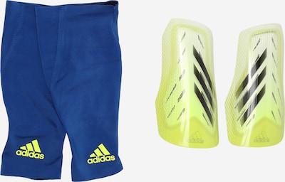 ADIDAS PERFORMANCE Housse 'X SG Pro' en bleu / jaune, Vue avec produit