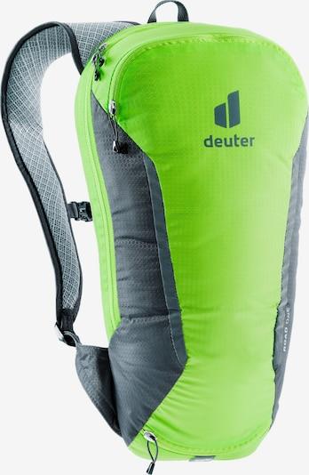 DEUTER Sports Backpack 'Road One' in Dark grey / Neon green, Item view