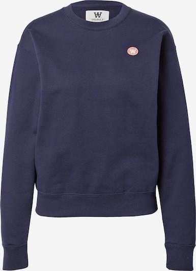 WOOD WOOD Sudadera 'Jess' en azul oscuro / rosa, Vista del producto