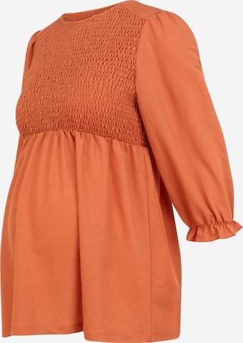 Camicia da donna di MAMALICIOUS in arancione