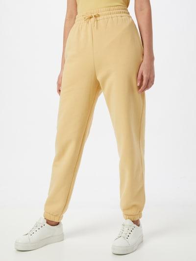 Pantaloni 'Carmen' Samsoe Samsoe di colore giallo chiaro, Visualizzazione modelli