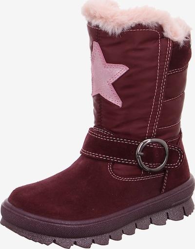 SUPERFIT Stiefel 'Flavia' in rosa / weinrot, Produktansicht