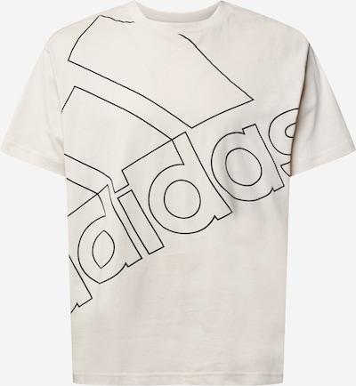 ADIDAS PERFORMANCE Functioneel shirt in de kleur Beige / Zwart, Productweergave