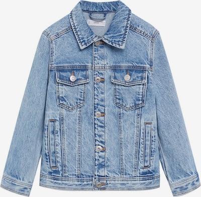 MANGO KIDS Přechodná bunda 'John' - modrá džínovina, Produkt