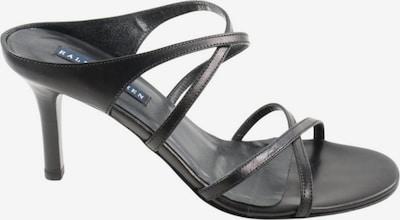 RALPH LAUREN High Heel Sandaletten in 36 in schwarz, Produktansicht