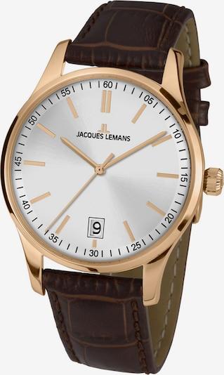 Jacques Lemans Uhr in braun / rosé, Produktansicht