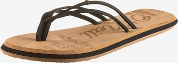 O'NEILL T-Bar Sandals 'Ditsy' in Black