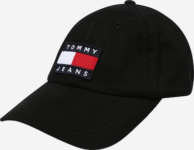 Tommy Jeans Cap in navy / rot / schwarz / weiß, Produktansicht