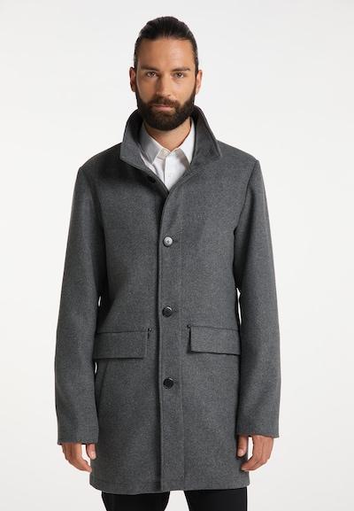 DreiMaster Klassik Mantel in dunkelgrau, Modelansicht