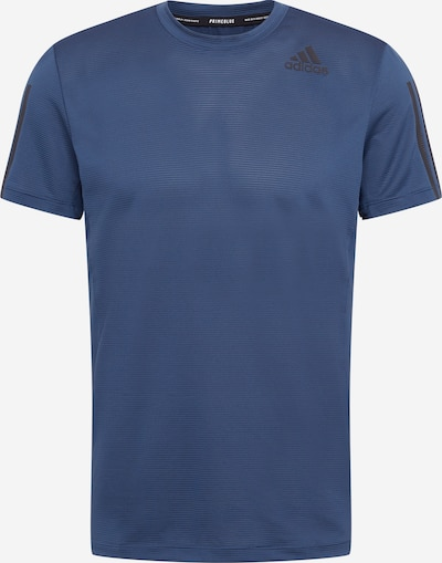 ADIDAS PERFORMANCE T-Shirt fonctionnel en bleu marine / noir, Vue avec produit