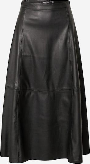 SOAKED IN LUXURY Rock 'Malene' in schwarz, Produktansicht