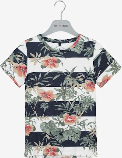 Key Largo T-Shirt 'BT MALIBU' in navy, Produktansicht
