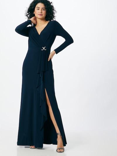 Lauren Ralph Lauren Večernja haljina 'LUANA' u mornarsko plava: Prednji pogled