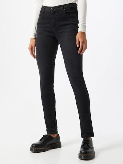 OPUS Jeans 'Evita' in black denim, Modelansicht