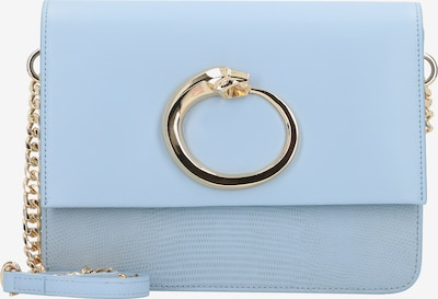 roberto cavalli Milano Umhängetasche Leder 24 cm in himmelblau / gold, Produktansicht