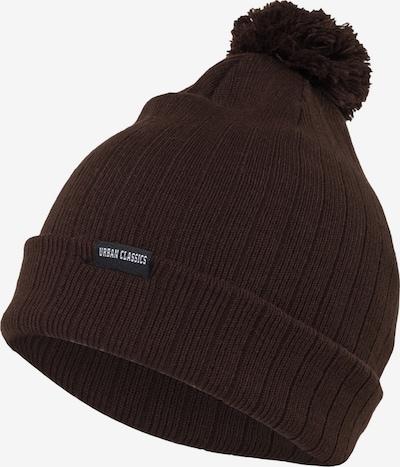 Urban Classics Bonnet en brun foncé, Vue avec produit