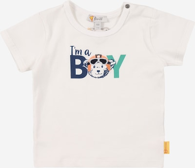 Steiff Collection Camiseta en navy / azafrán / jade / negro / blanco, Vista del producto