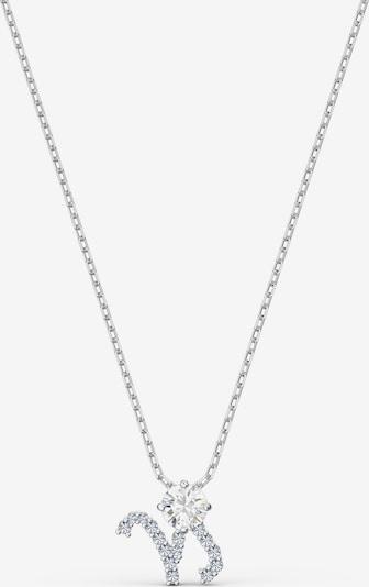 Swarovski Ketting 'ZODIAC II:PENDANT CAPRICORN' in de kleur Zilver / Transparant, Productweergave