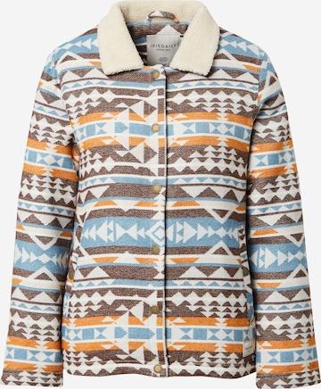 Iriedaily Between-Season Jacket 'Team Sherpa' in Mixed colors