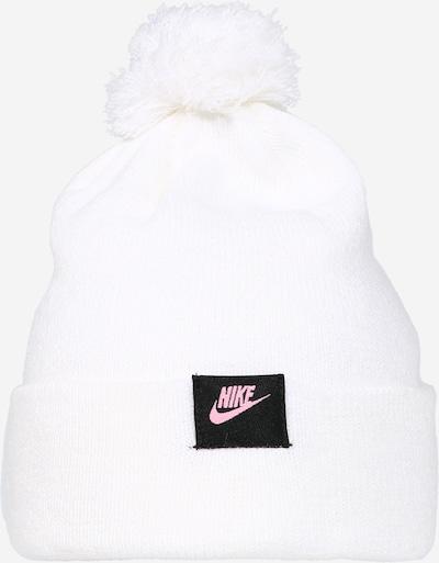 Nike Sportswear Set (Beannie & Handschuhe) in weiß, Produktansicht