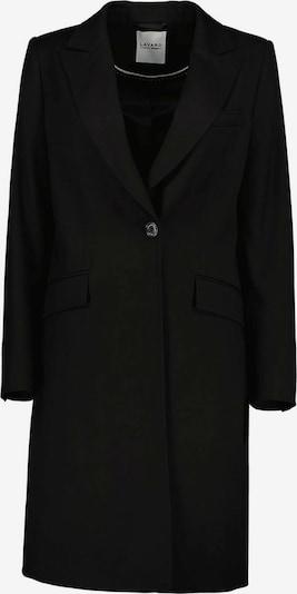 Lavard Mantel als einreihiger Frühlingsmantel in schwarz, Produktansicht