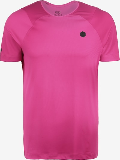UNDER ARMOUR Shirt in pink / schwarz: Frontalansicht