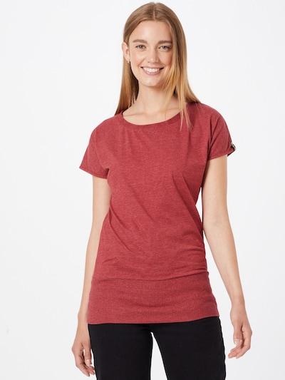 Fli Papigu Тениска 'Schnitzel' в червен меланж: Изглед отпред