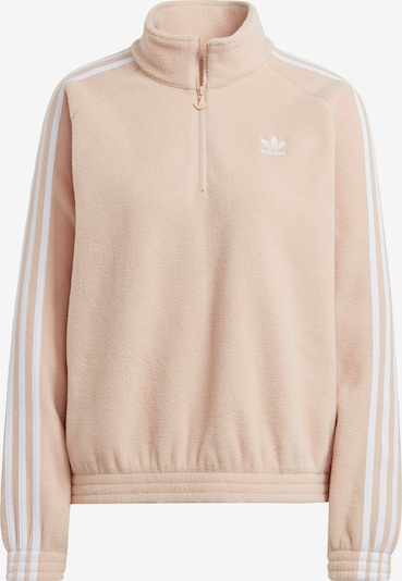 ADIDAS ORIGINALS Sweatshirt in nude / weiß, Produktansicht
