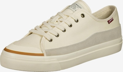 LEVI'S Platform trainers 'Square' in Cream / Light grey, Item view
