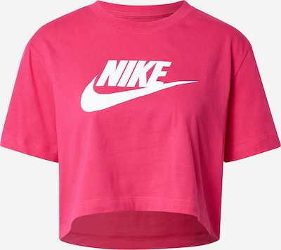 Nike Sportswear Shirt in de kleur Fuchsia / Wit, Productweergave