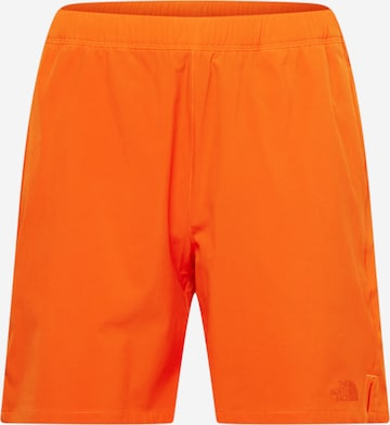 THE NORTH FACE Παντελόνι πεζοπορίας σε πορτοκαλί