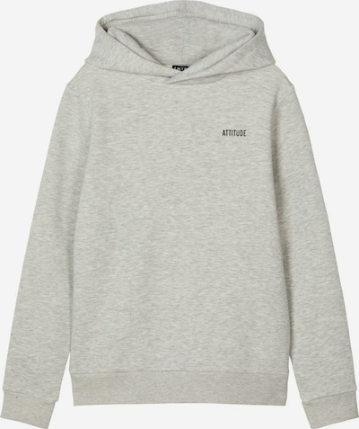 NAME IT Sweatshirt in grau: Frontalansicht