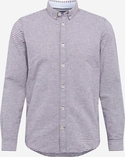TOM TAILOR Hemd in navy / weiß, Produktansicht