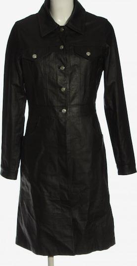 JOY Ledermantel in S in schwarz, Produktansicht