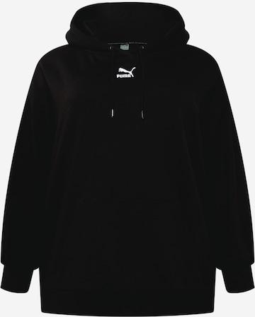 PUMA Sweatshirt i svart