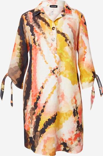 TAIFUN Kleid in mischfarben / orange, Produktansicht