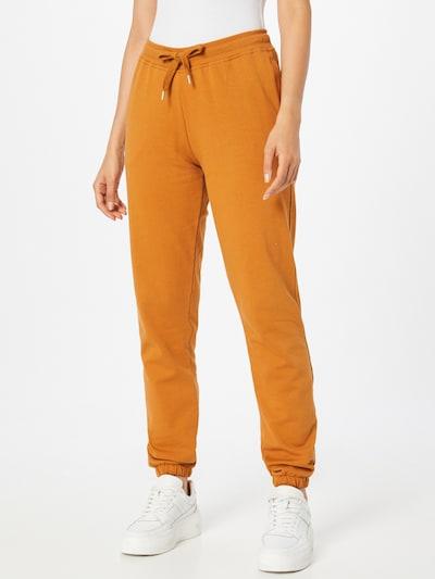basic apparel Hose 'Maje' - (GOTS) in orange, Modelansicht