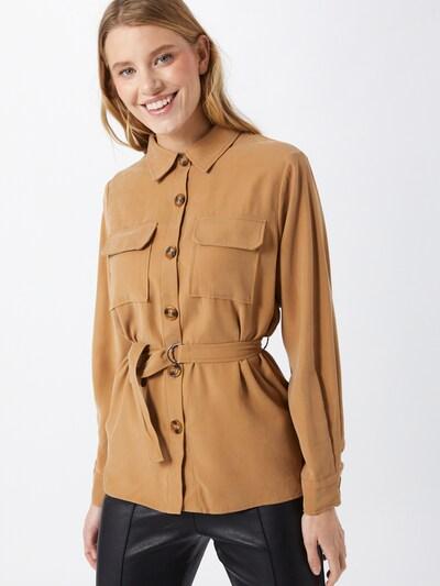 VILA Blusa en marrón claro, Vista del modelo