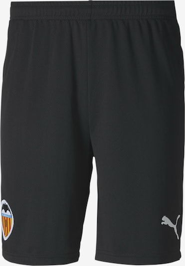 PUMA Shorts 'Valencia Replica' in schwarz / weiß: Frontalansicht