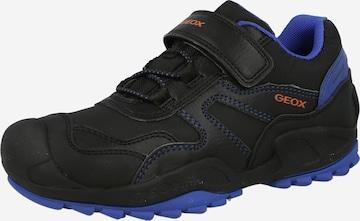 GEOX Sneaker 'SAVAGE' in Schwarz