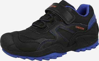 GEOX Trainers 'SAVAGE' in Royal blue / Cognac / Black, Item view