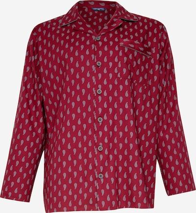 Cyberjammies Pyjama long en gris / canneberge, Vue avec produit