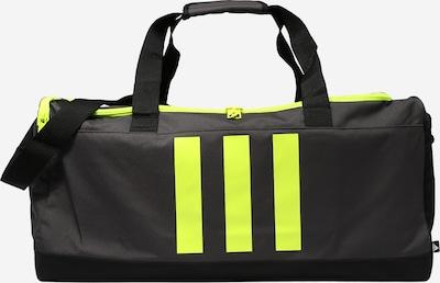 ADIDAS PERFORMANCE Sporttasche in dunkelgrau / neongrün, Produktansicht