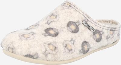bézs / szürke SHEPHERD OF SWEDEN Házi cipő 'CILLA', Termék nézet