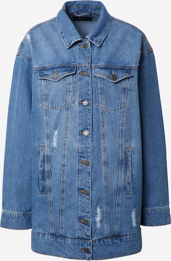 Noisy May (Tall) Between-season jacket 'FIONA' in Blue denim, Item view