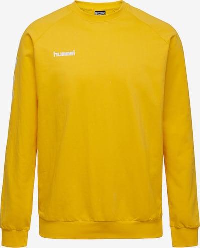 Hummel Sweatshirt in gelb / weiß, Produktansicht