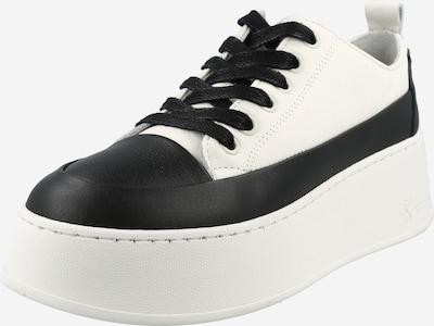 Sportbačiai be auliuko iš BRONX, spalva – juoda / balta, Prekių apžvalga
